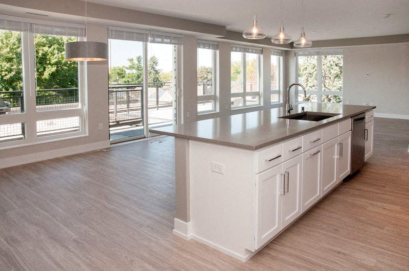 Floor plan at The Finn Apartments, Minnesota, 55116