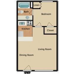 One Bedroom /One Bathroom