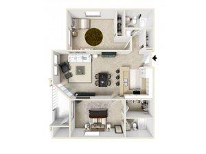 B floor plan.