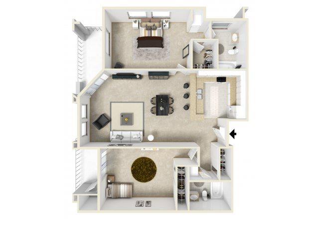 C floor plan.