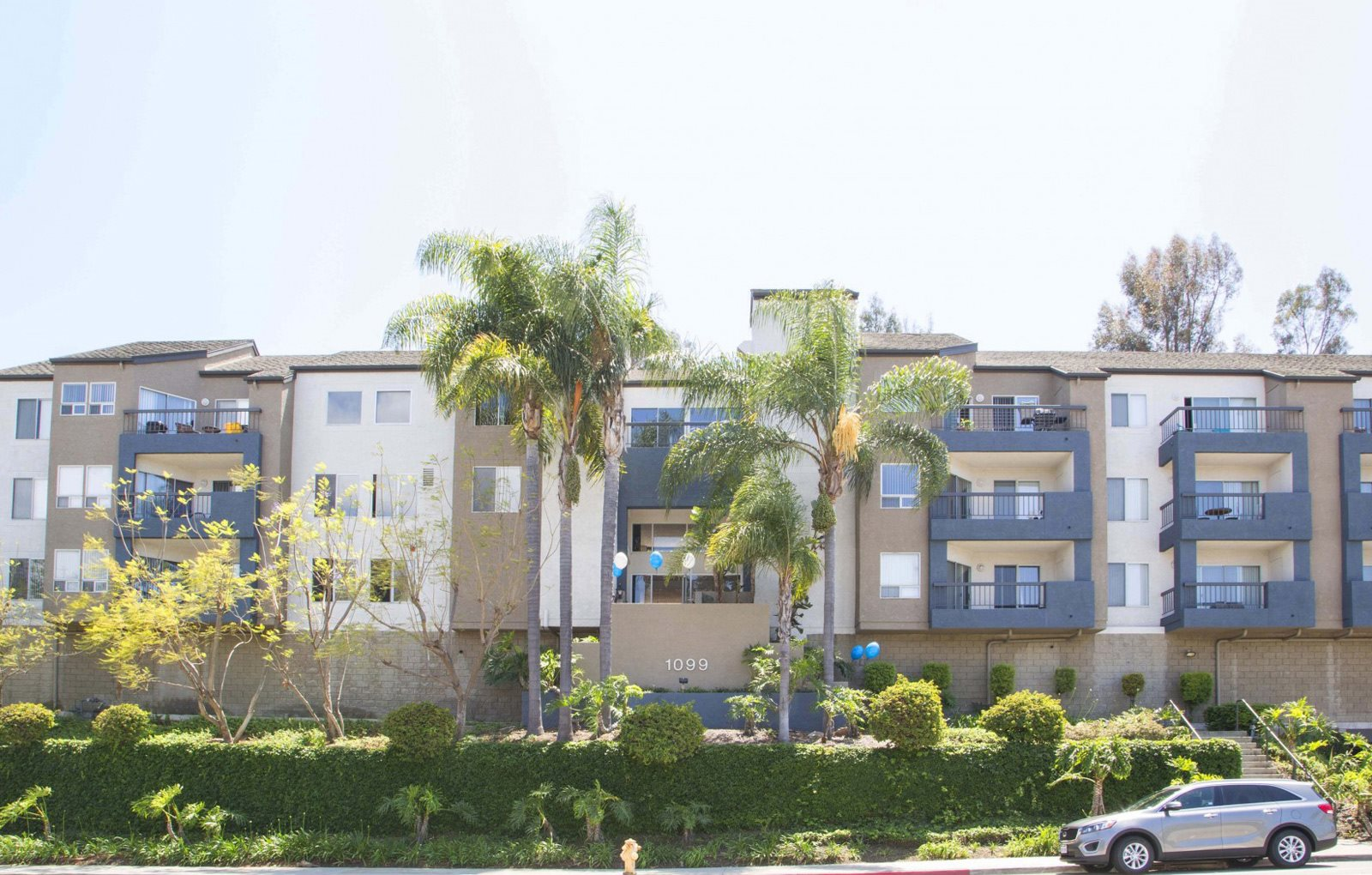 View of Community San Pedro California | Bayridge Apartments