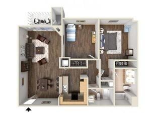 JUNIPER floor plan.