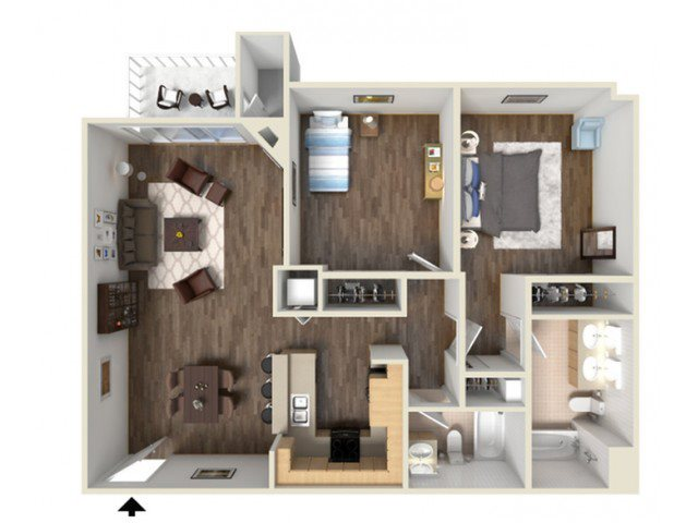JUNIPER floor plan.