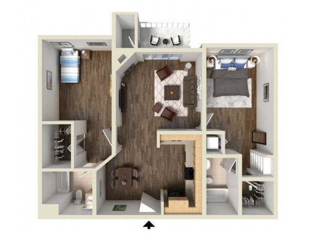 LAUREL floor plan.
