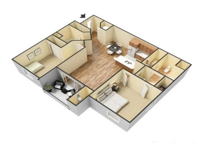 The Sierra floor plan.