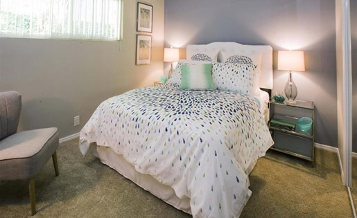 Apartments for Rent in Monterey Park CA - Emerald Hills Apartments Bedroom