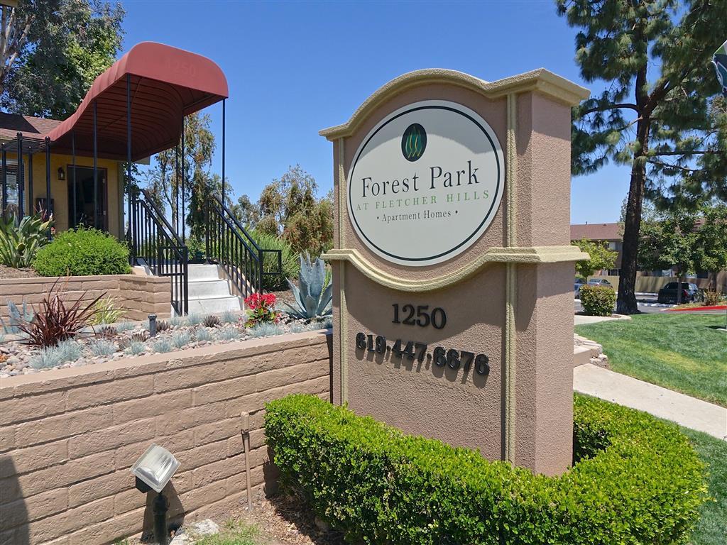 Rentals in El Cajon, CA l Forest Park Apartment Homes