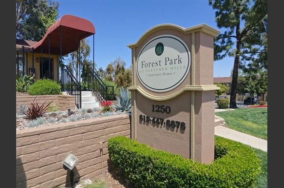 Forest park el cajon apartments 1250 petree street el - 3 bedroom apartments for rent in el cajon ...
