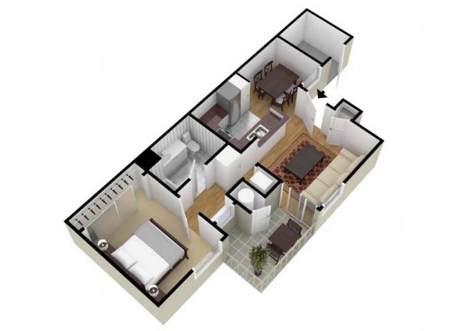 Rancho floor plan.