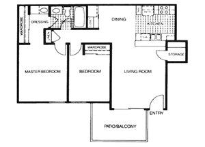 Skyline floorplan 1