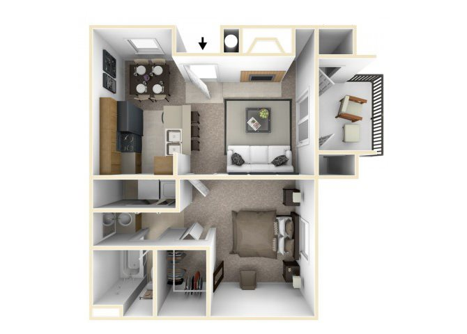 Waterford Cove floorplan 1