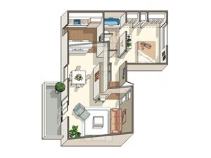 Plumeria floor plan.