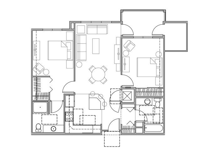 Urban Center floorplan 1