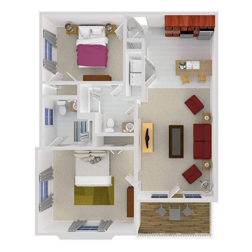 FLEETWOOD Floor Plan 2