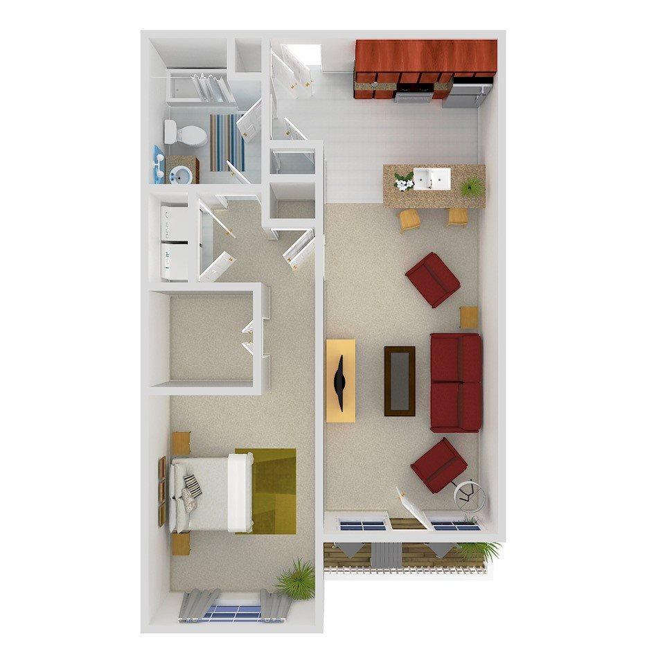 THE PRIMROSE Floor Plan 1