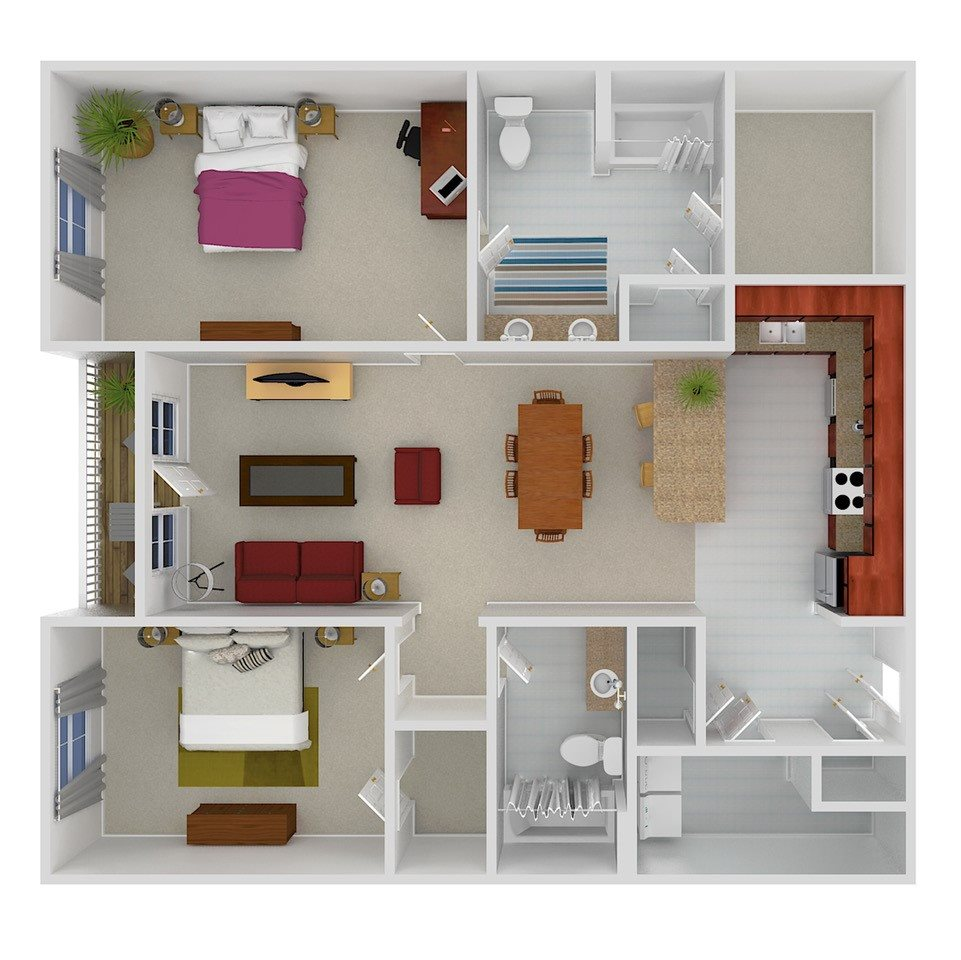 THE WHITFIELD Floor Plan 4