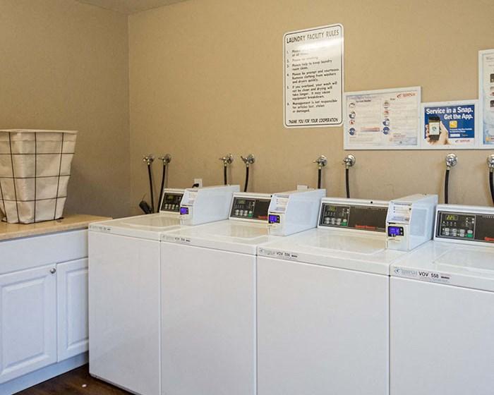 Onsite laundry facilities at The Meridian | Walnut Creek, CA