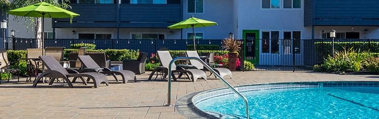 Swimming Pool | The Meridian Apartment Homes in Walnut Creek, CA