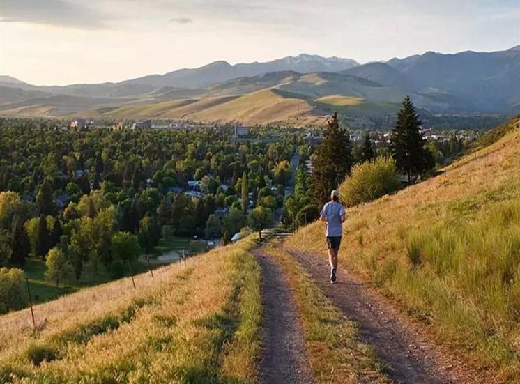 Running Trail at Corso Apartments, Montana, 59801