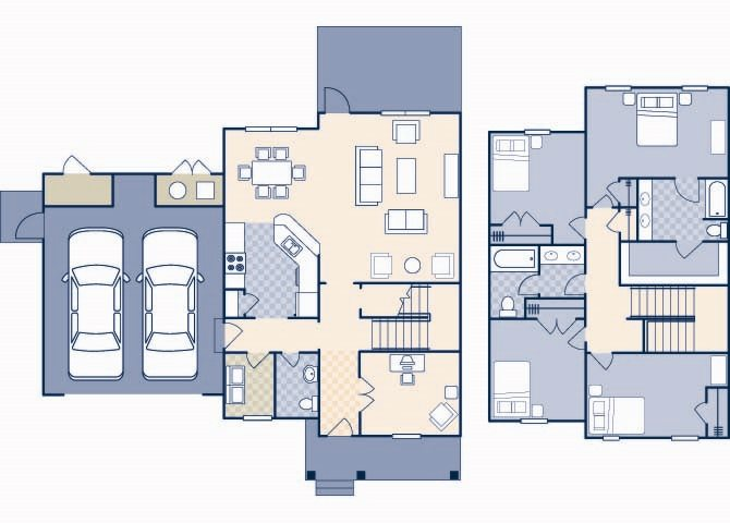 Howie Village 2200 Floor Plan 40