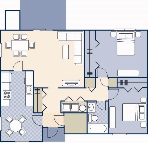 Pierce Terrace 5 1125 Floor Plan 23