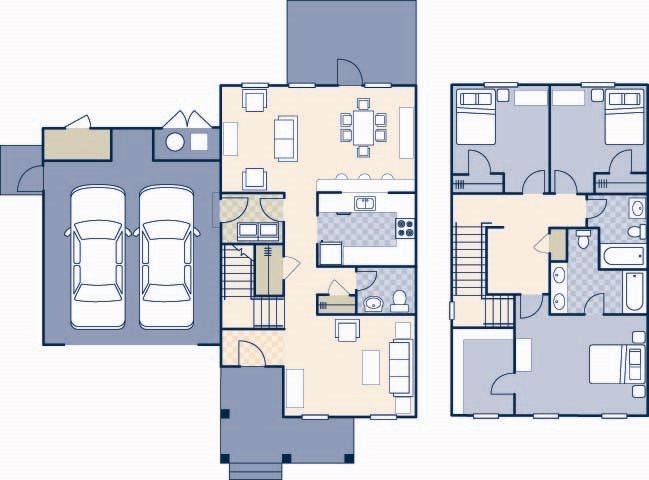 Pierce Terrace 1 1775 Floor Plan 1