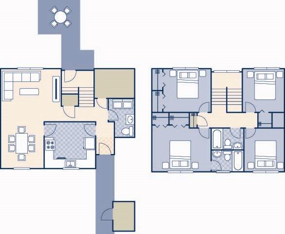 Pierce Terrace 5 1600 Floor Plan 27