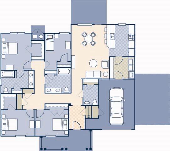 Pierce Terrace 4 2008 Floor Plan 22