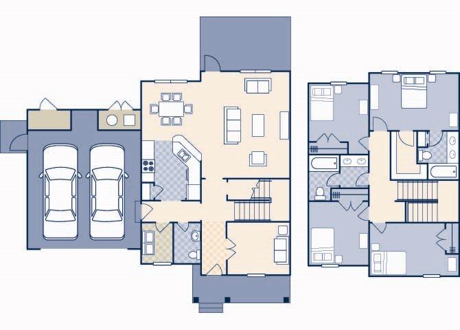 Pierce Terrace 1 2200 Floor Plan 4