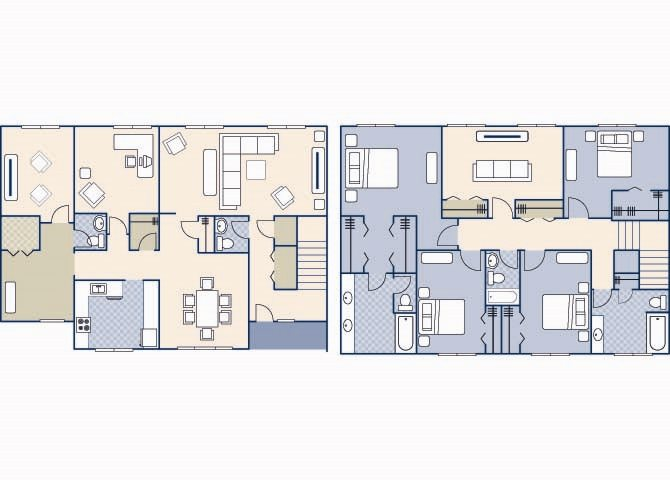 Pierce Terrace 2 2800 Floor Plan 9
