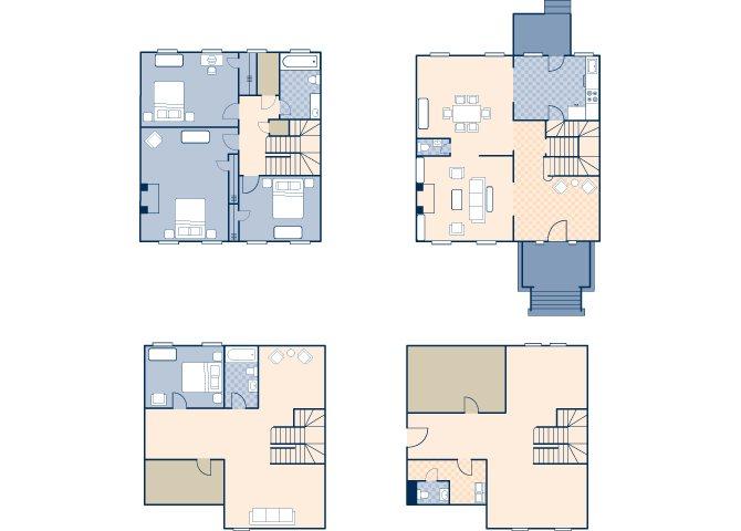 Colonel's Row 1722 Floor Plan 2