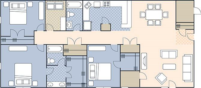 Doubleday Village 1644 Floor Plan 4