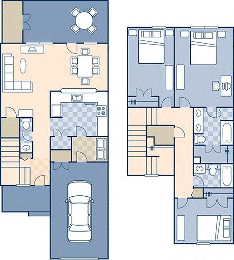 Lower Ocean View 1783 Floor Plan 6