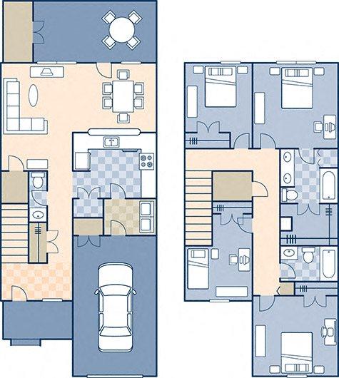 Lower Ocean View 1956 Floor Plan 7