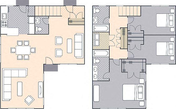 Upper Ocean View 1622 Floor Plan 10