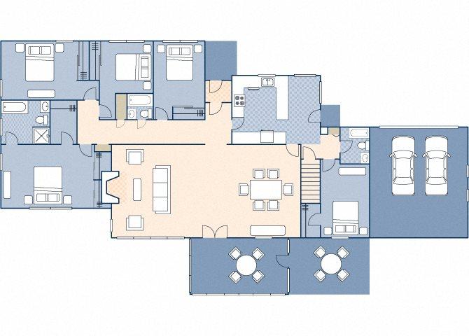 Officers Row 2990 Floor Plan 13