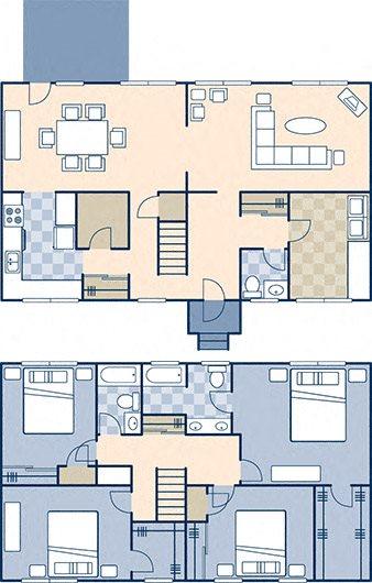 Upper Ocean View 2114 Floor Plan 12