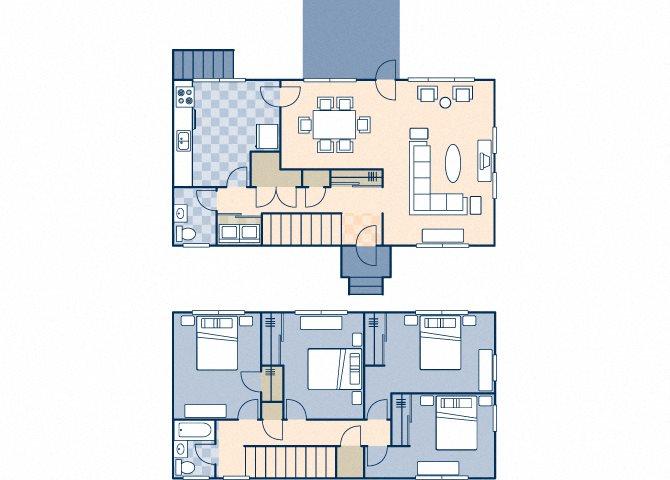 Upper Ocean View 1622 Floor Plan 11