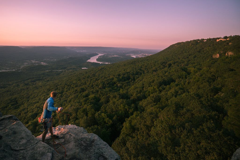 Be surrounded by winding hills, scenic trails and Chattanooga's iconic Signal Mountain