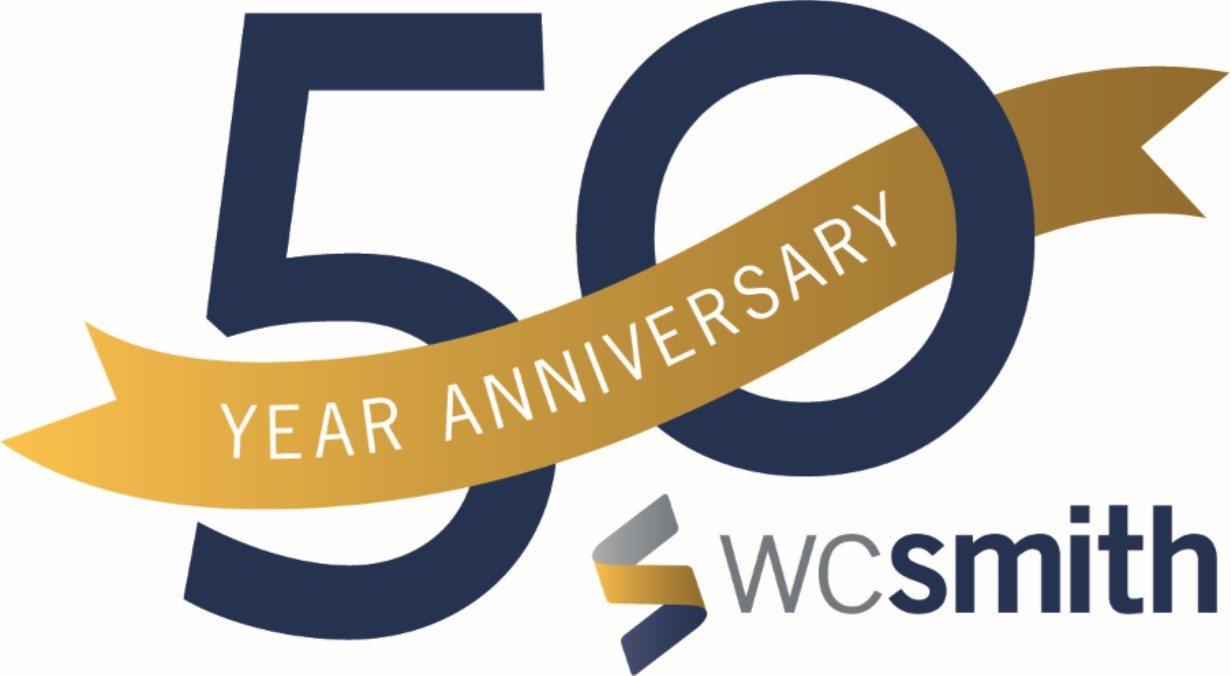 WC Smith-50th-Anniversary-Logo