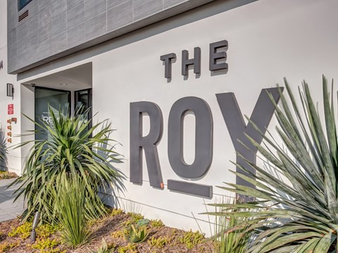 The Roy Exterior Front Sign