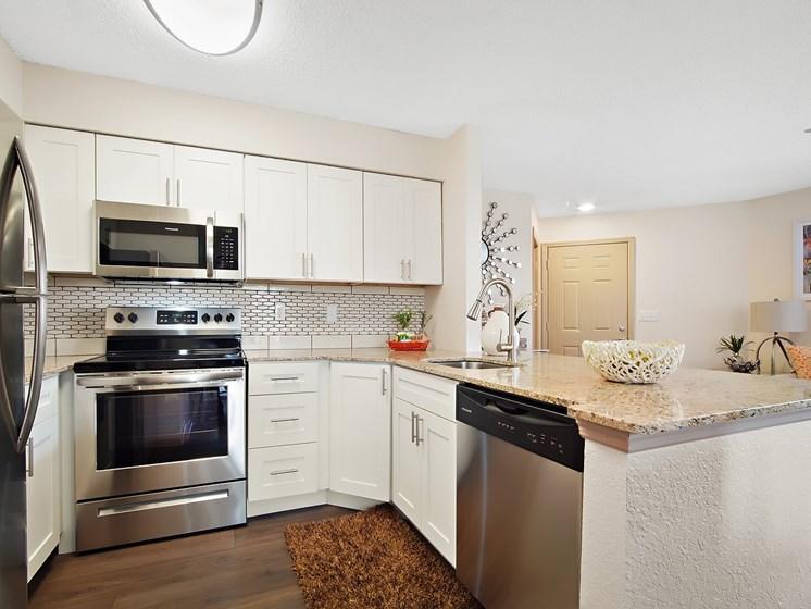 Designer Inspired Kitchen at Retreat at Crosstown, Riverview, FL, 33578