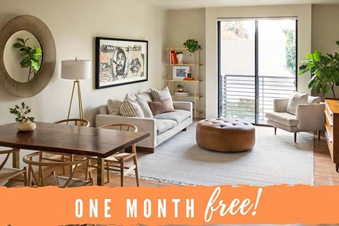 One Month Free at 1801 L Apartments