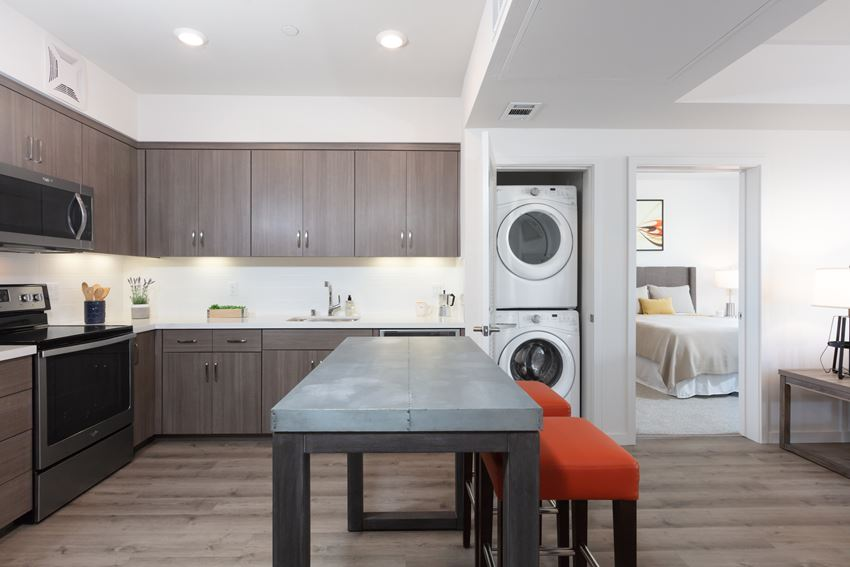 Oakland Luxury Apartments for Rent-777 Broadway Kitchen