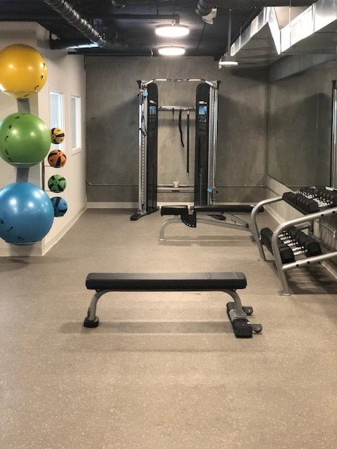 Fitness Center-Bench | 777 Broadway