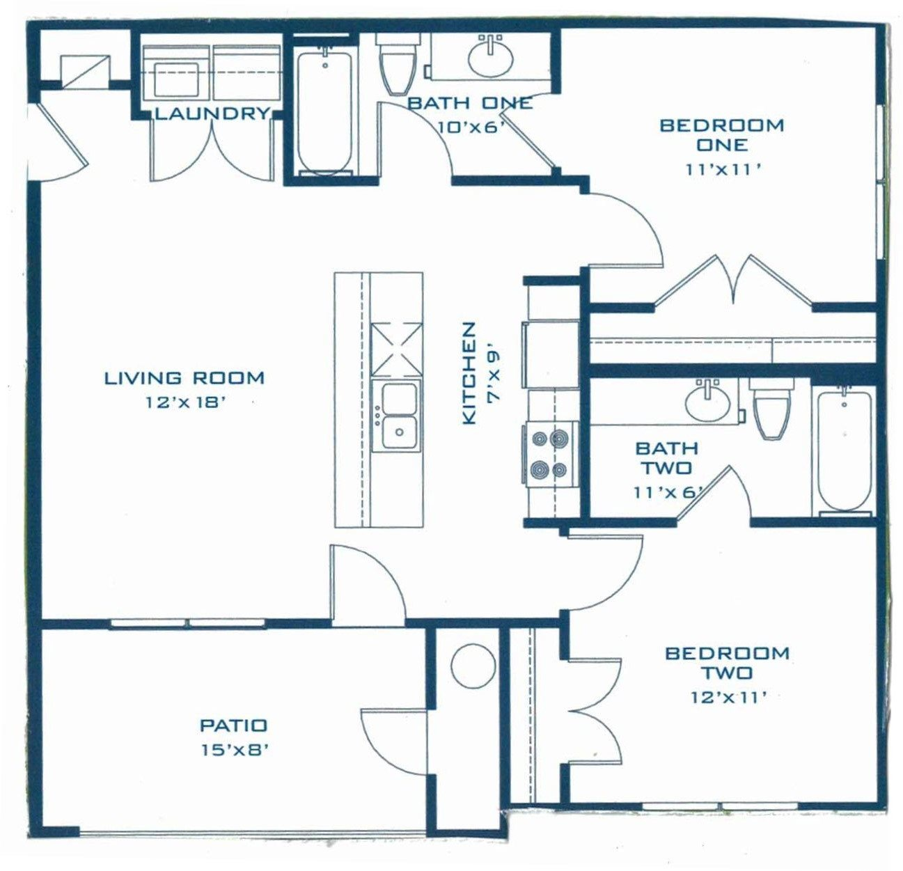 The Llano Floor Plan 2