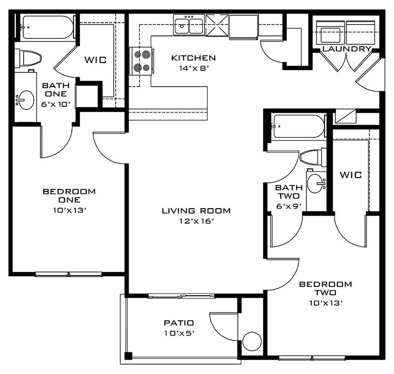 The Comal Floor Plan 3