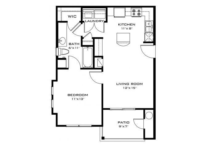 The Frio floor plan
