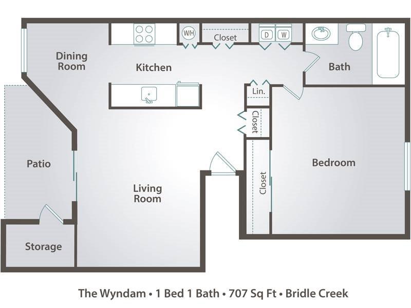 The Wyndam Floor Plan 1