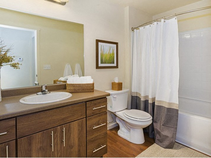 Bathroom Parker CO Apartment Rentals at Copper Steepe